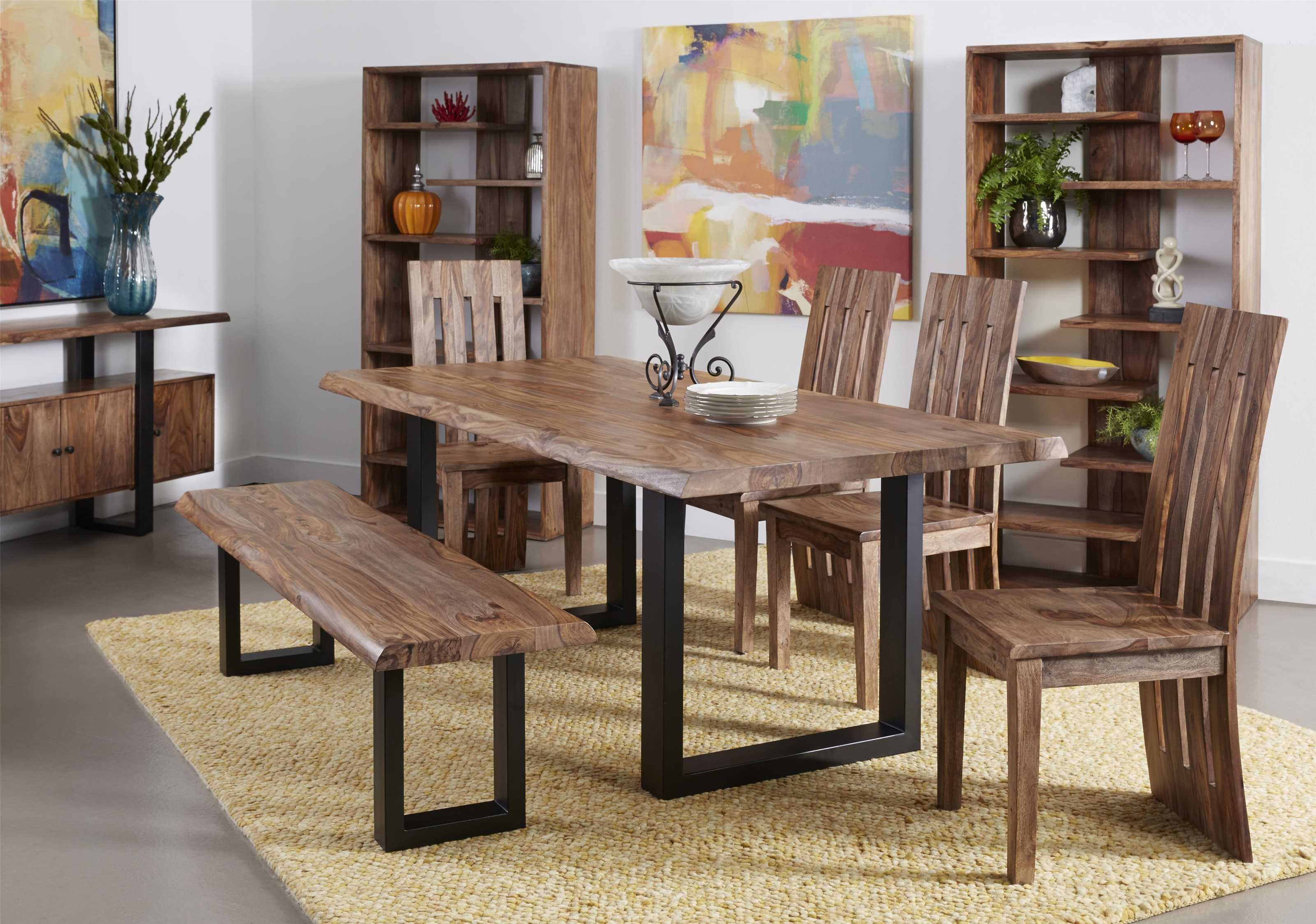 Gilliam 6 Piece Dining Set by C2C at Walker's Furniture