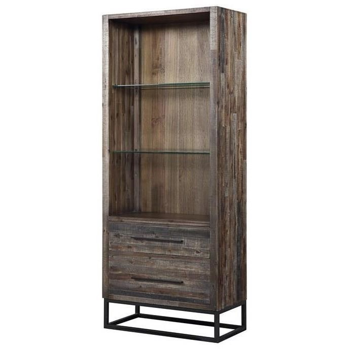 Canyon Ridge Two Drawer Bookcase/Pier by Coast to Coast Imports at Johnny Janosik