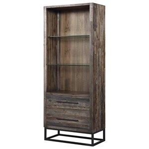 Two Drawer Bookcase/Pier