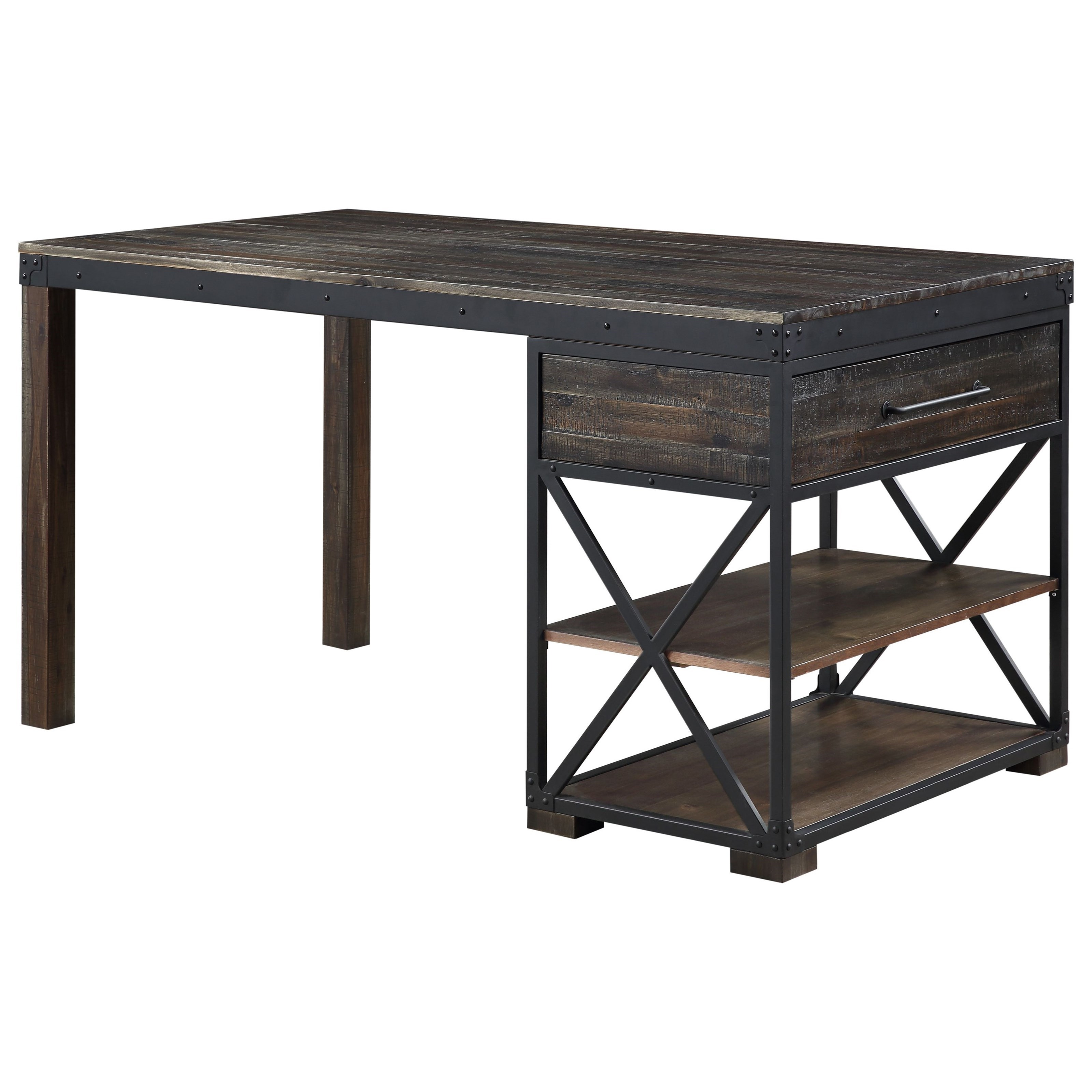 Canyon Ridge Counter Dining Table by C2C at Walker's Furniture