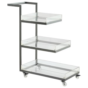 Coast to Coast Imports Coast to Coast Accents Three Tier Cart