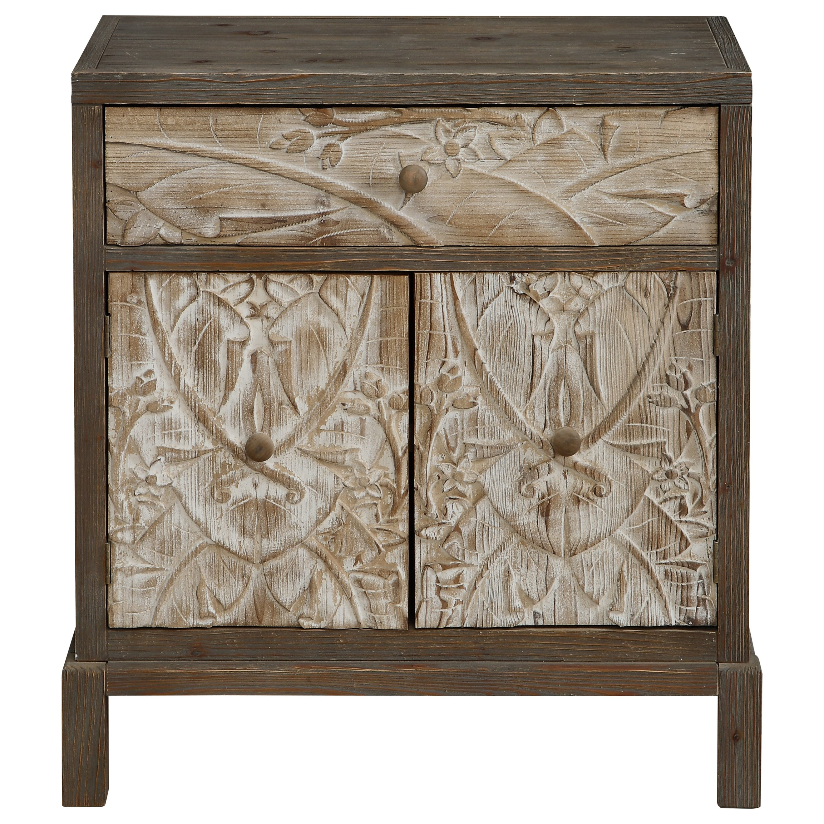 Coast to Coast Accents One Drawer Two Door Cabinet by Coast to Coast Imports at Zak's Home