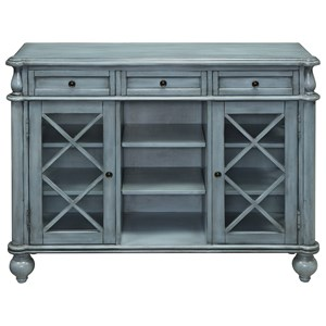 Three Drawer Two Door Credenza