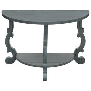Demilune Console Table