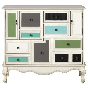Coast to Coast Imports Coast to Coast Accents Nine Drawer Two Door Credenza