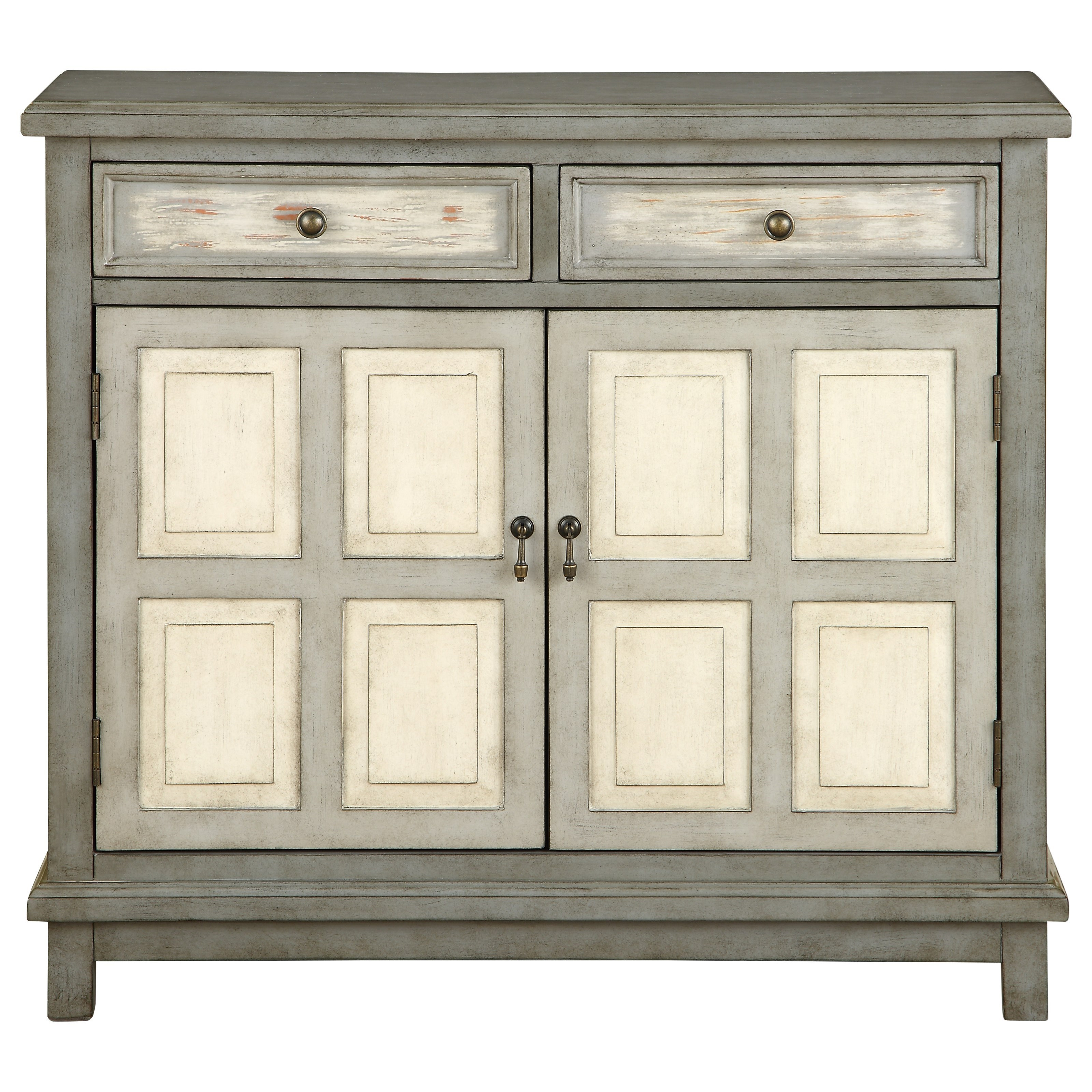 Coast to Coast Accents Two Drawer Two Door Cabinet by Coast to Coast Imports at Zak's Home