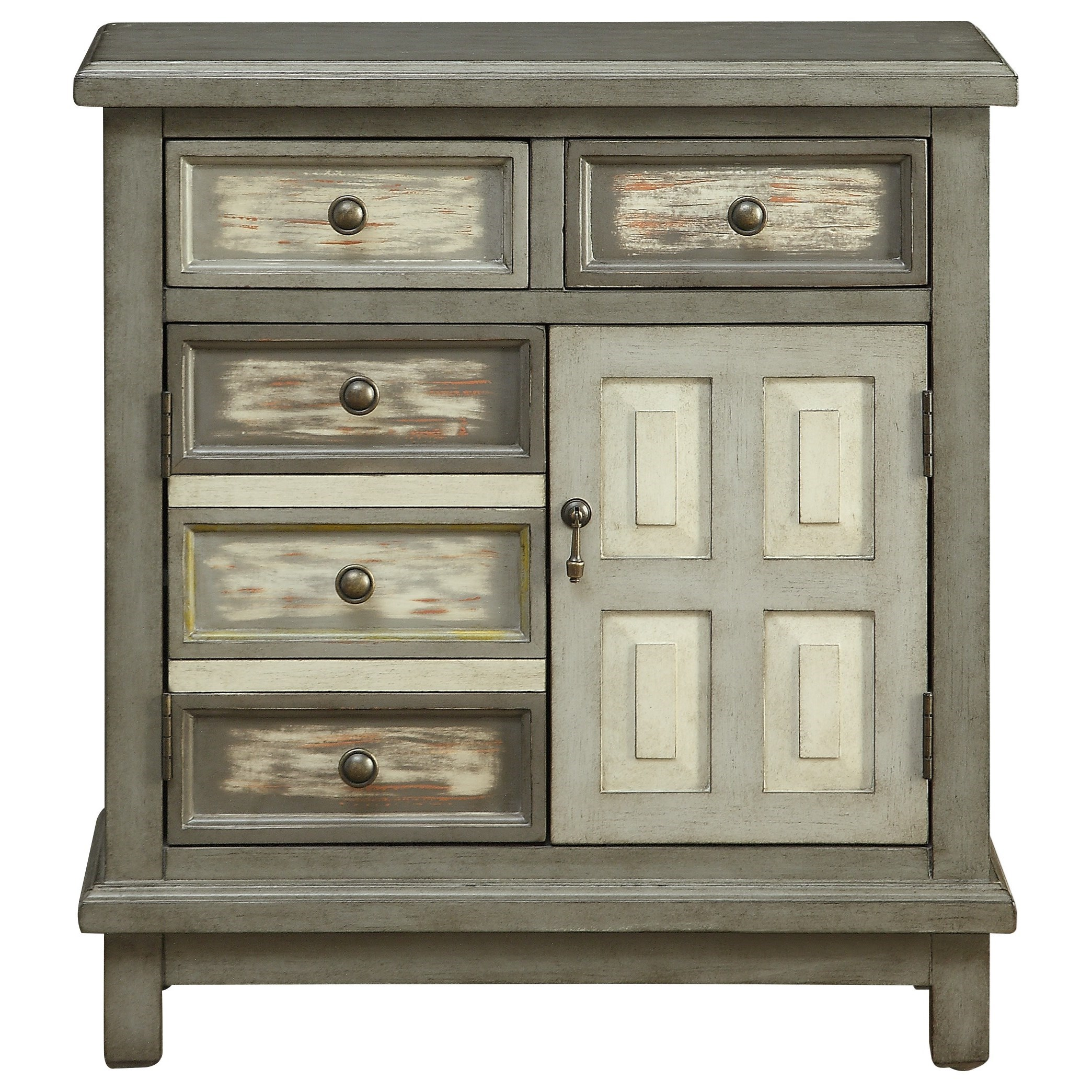 C2C Accents Two Drawer Two Door Cabinet by C2C at Walker's Furniture