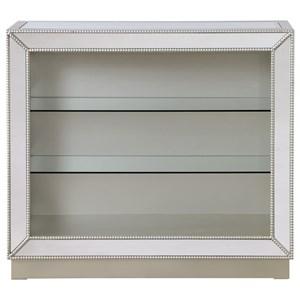 Coast to Coast Imports Coast to Coast Accents Mirrored Curio Cabinet