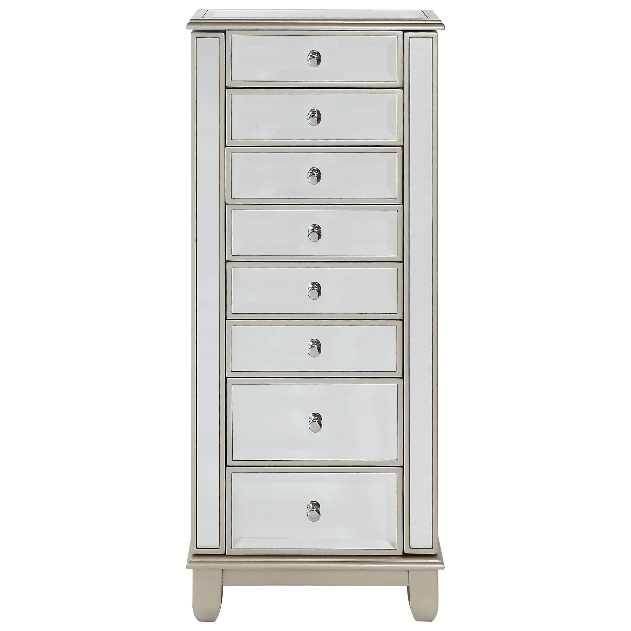 Coast to Coast Accents Two Door Seven Drawer Jewelry Armoire by Coast to Coast Imports at Johnny Janosik