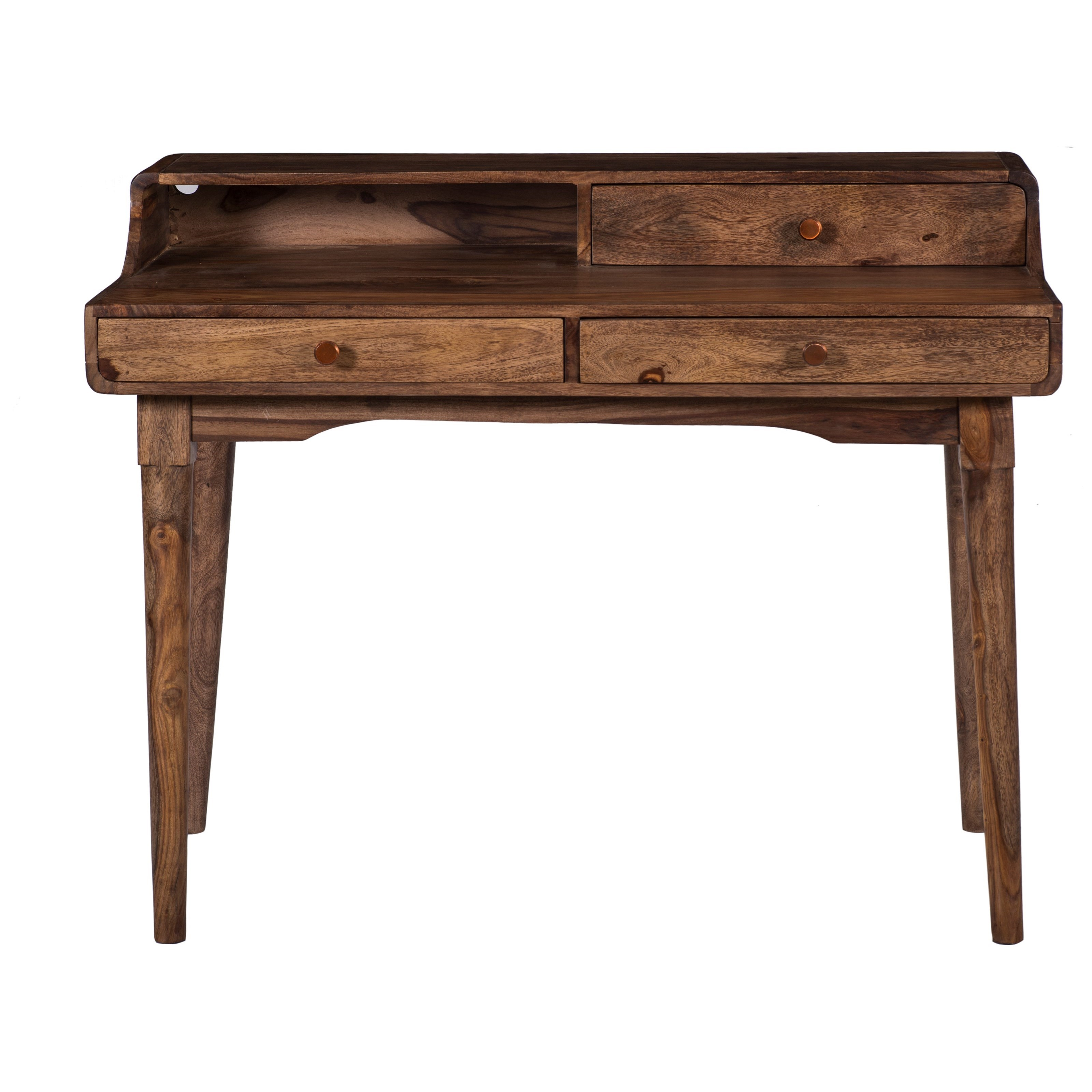 Coast to Coast Accents Three Drawer Writing Desk by Coast to Coast Imports at Baer's Furniture