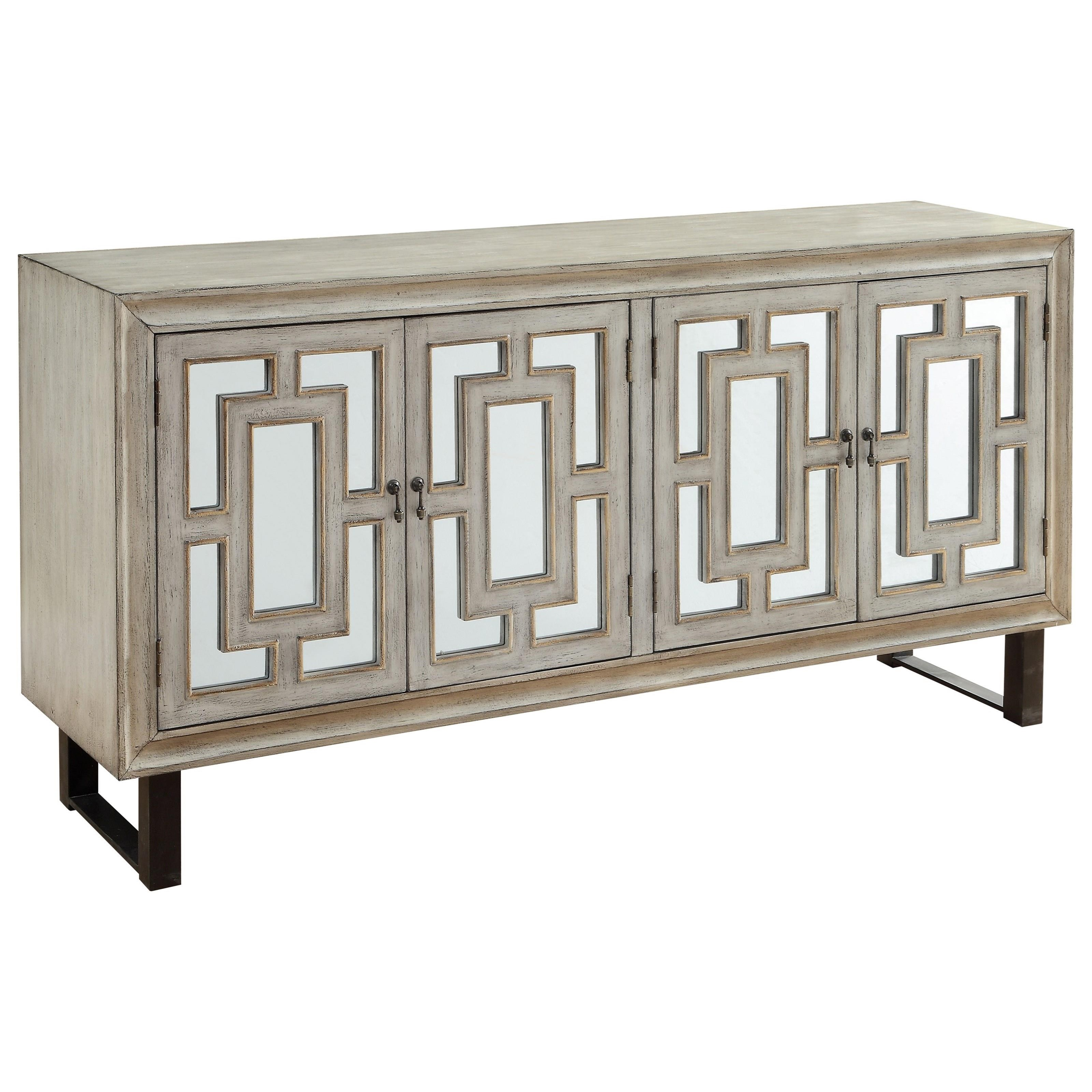 Coast to Coast Accents Four Door Media Credenza by Coast to Coast Imports at Bullard Furniture
