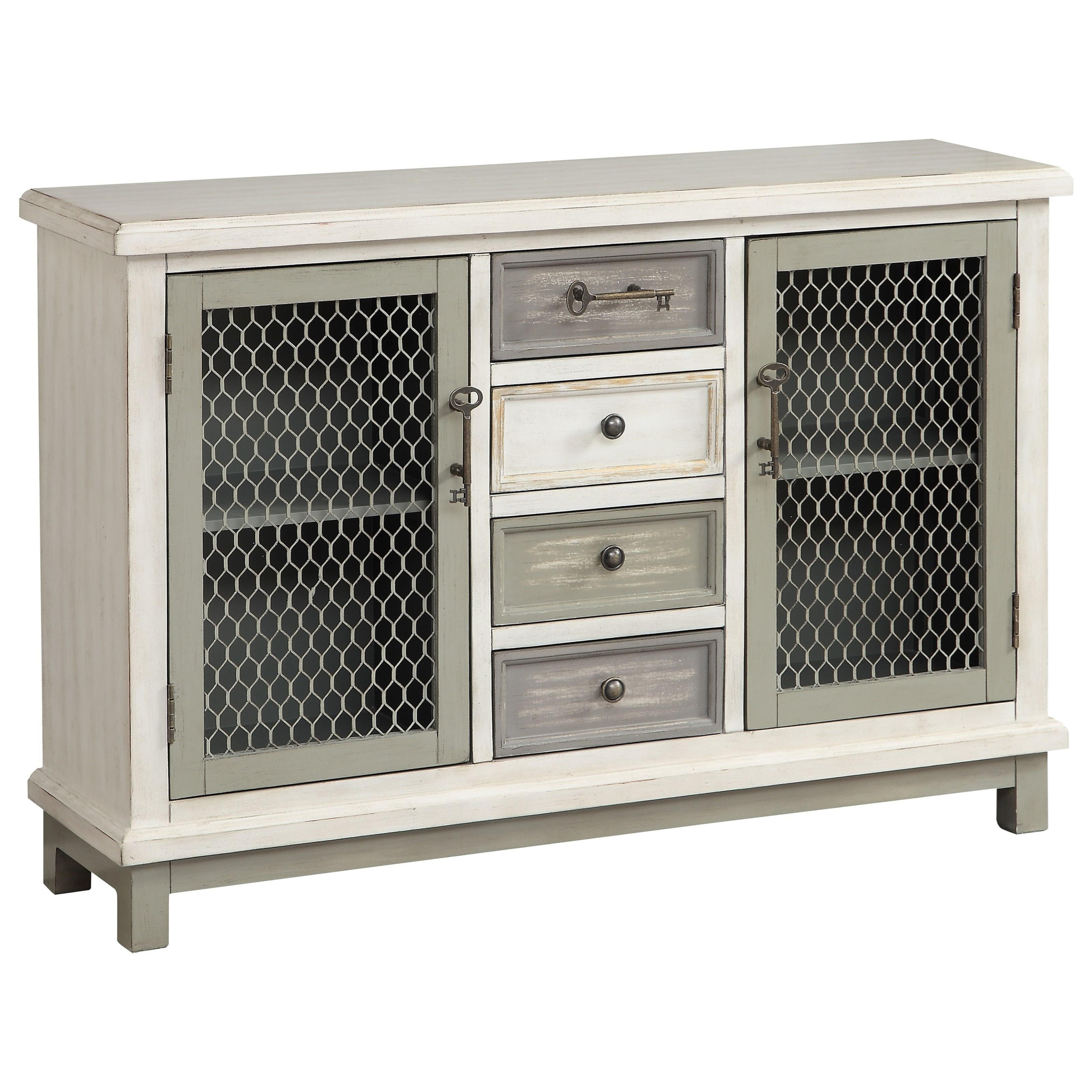Coast to Coast Accents Two Door Four Drawer Credenza by Coast to Coast Imports at Johnny Janosik