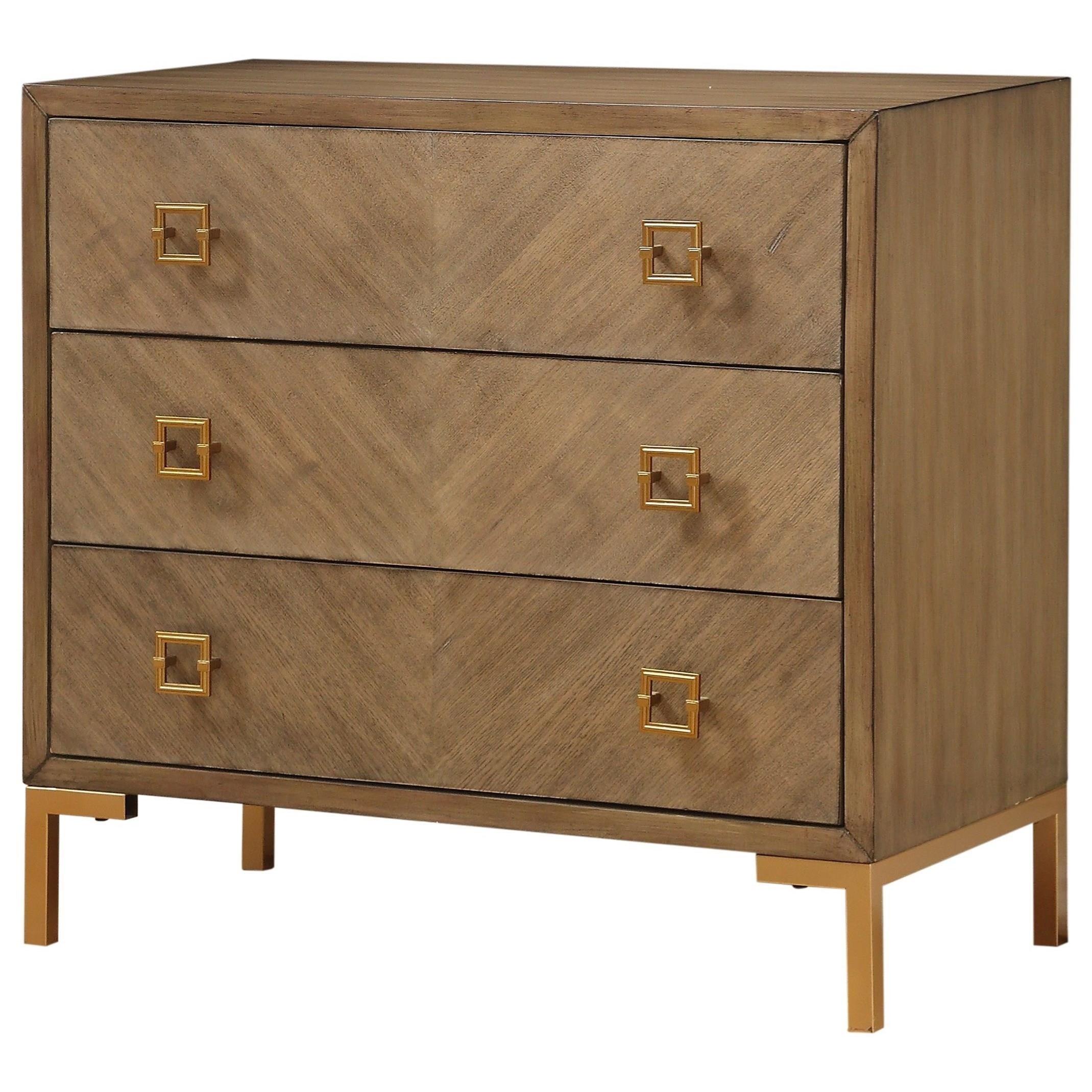 Coast to Coast Accents Three Drawer Chest w/ Power by Coast to Coast Imports at Bullard Furniture