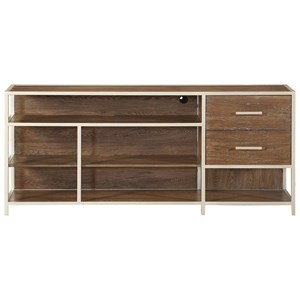 Contemporary 2-Drawer Media Console