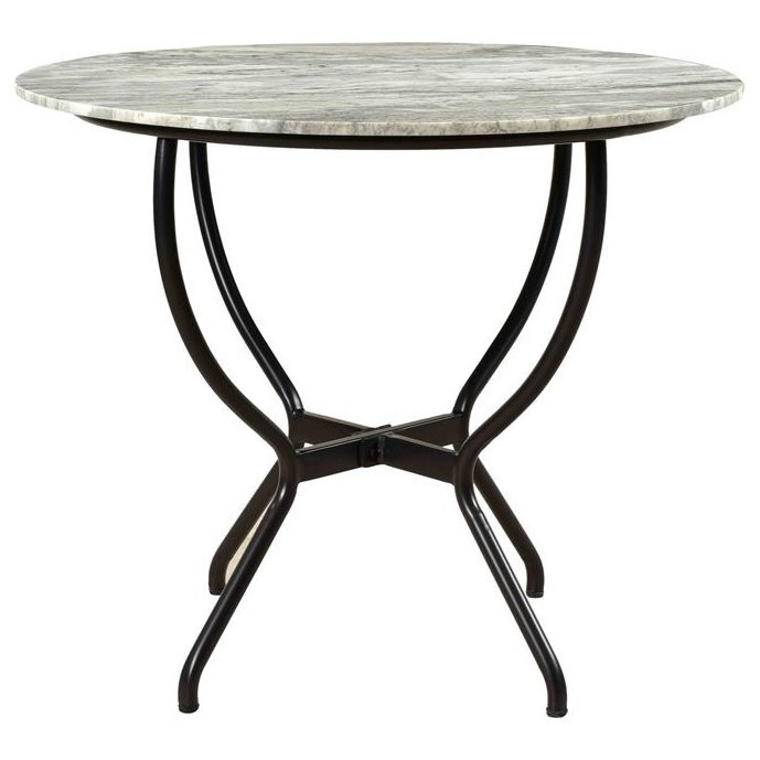 asdf Round Dining Table by C2C at Walker's Furniture