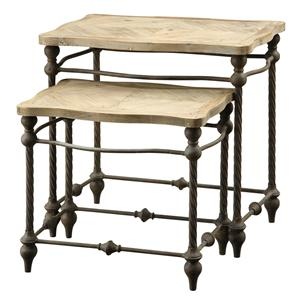 Coast to Coast Imports Coast to Coast Accents Two Tier Nested Table