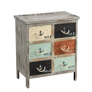 Coast to Coast Imports Coast to Coast Accents Six Drawer Chest