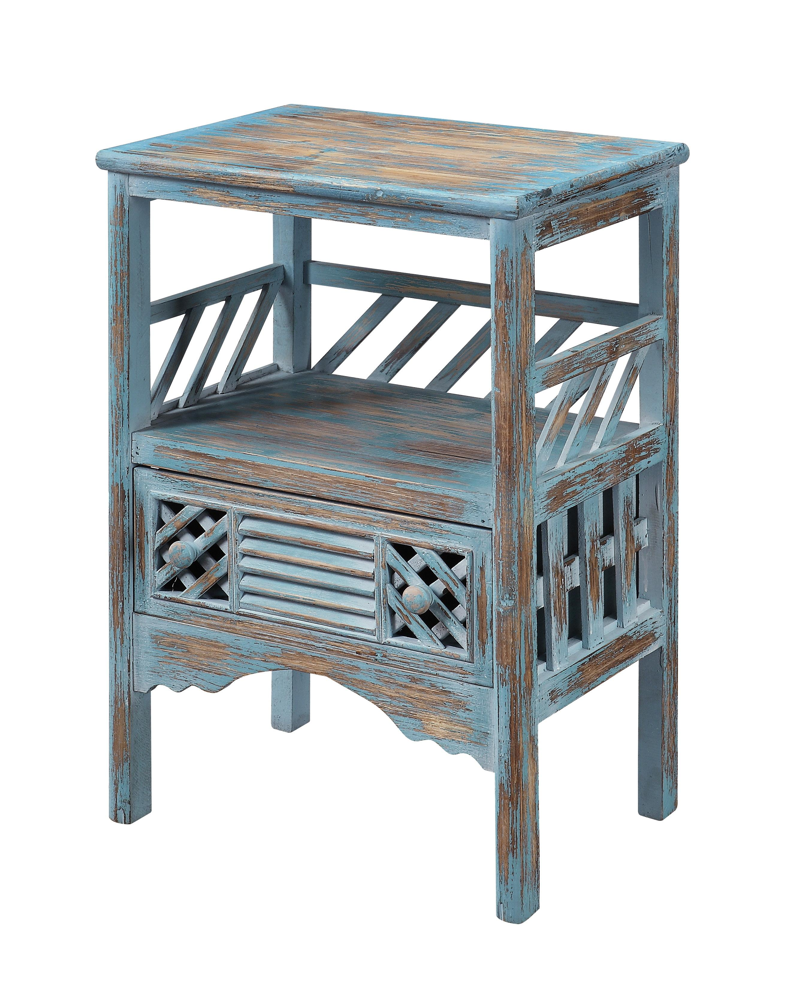 Coast to Coast Accents One Drawer Accent Table by Coast to Coast Imports at Johnny Janosik