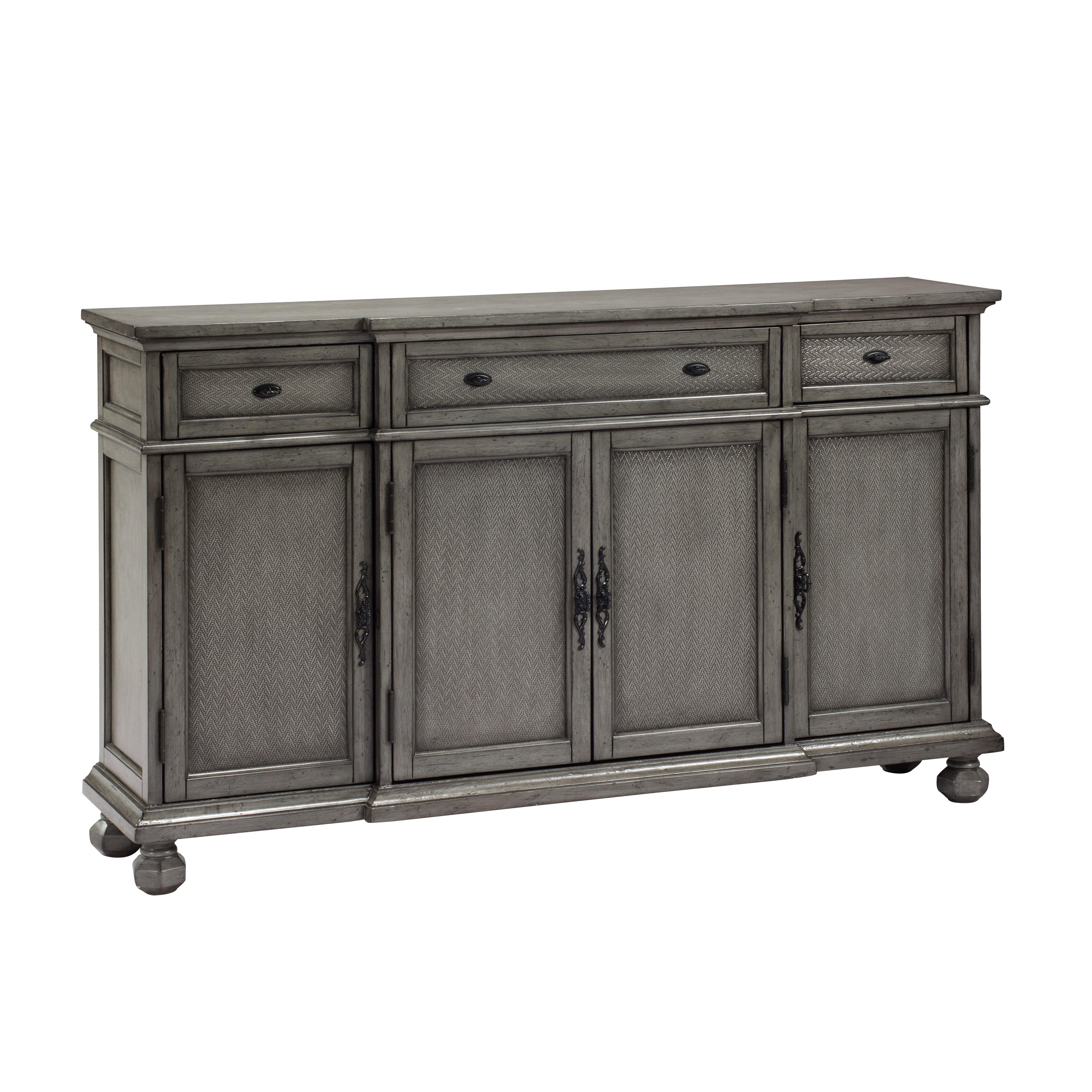 C2C Accents Three Drawer Four Door Credenza by C2C at Walker's Furniture