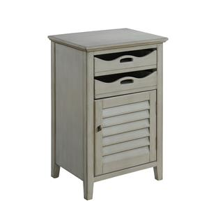 Coast to Coast Imports Coast to Coast Accents One Door Two Drawer Cabinet