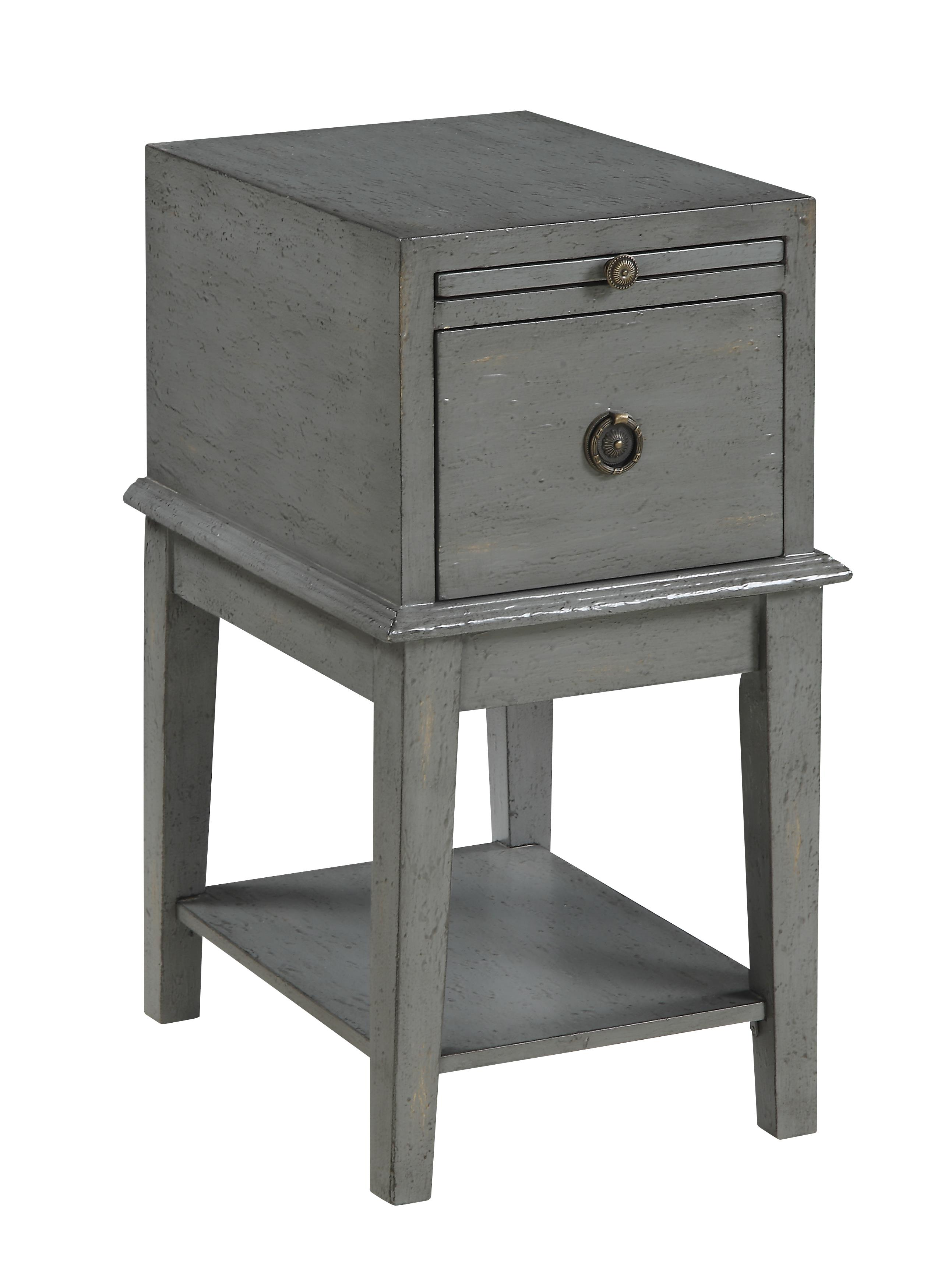 C2C Accents One Drawer Chairside Chest by C2C at Walker's Furniture