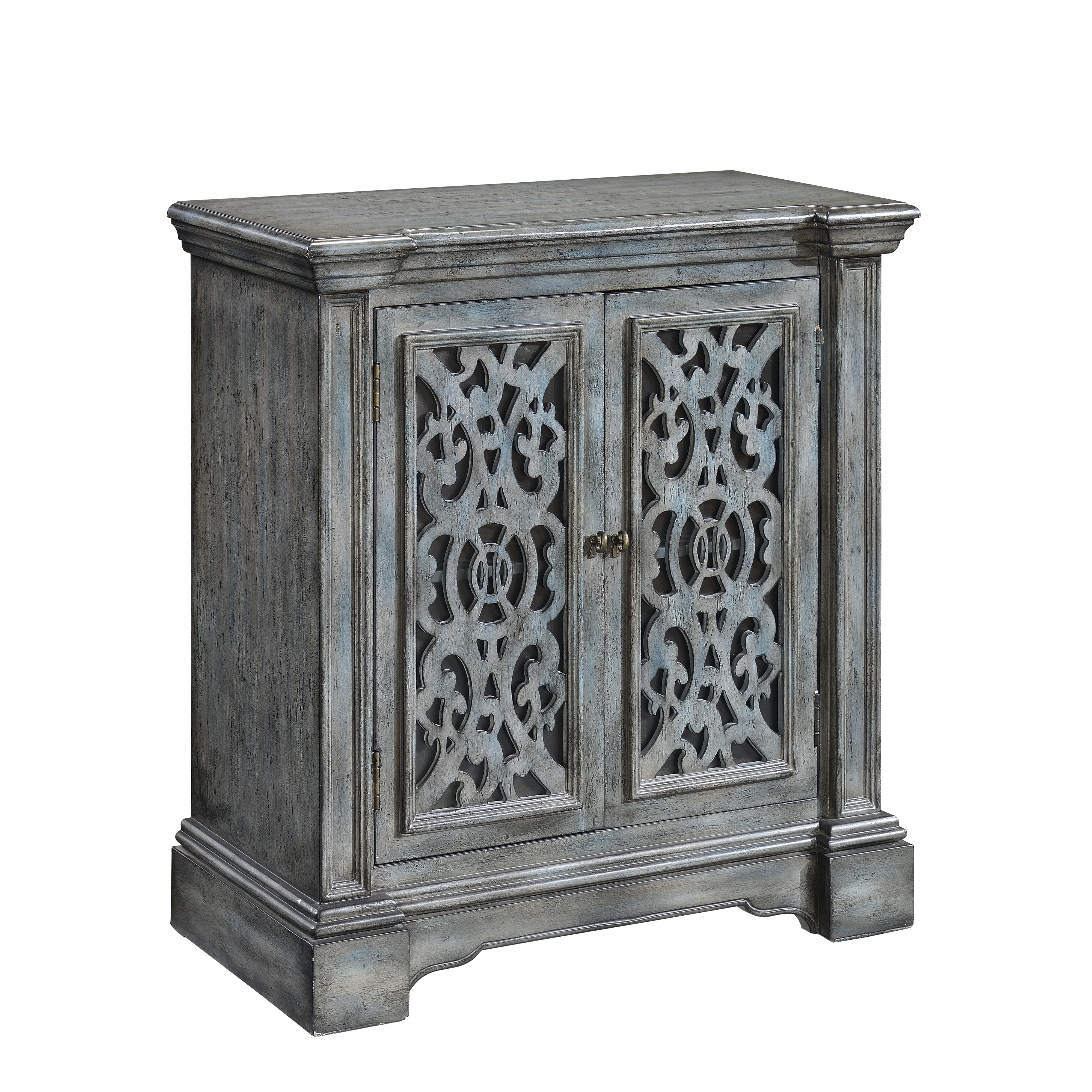 Coast to Coast Accents Two Door Cabinet by Coast to Coast Imports at Westrich Furniture & Appliances