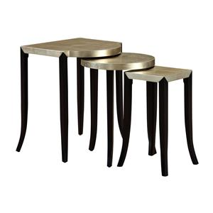 Coast to Coast Imports Coast to Coast Accents Set of Three Nesting Accent Tables