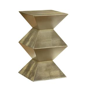 Coast to Coast Imports Coast to Coast Accents Geometric Chairside Pedestal