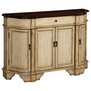 Coast to Coast Imports Coast to Coast Accents Four Door One Drawer Credenza
