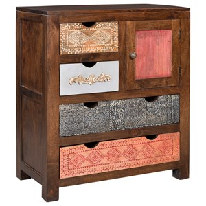 Coast to Coast Imports Coast to Coast Accents One Door Four Drawer Cabinet