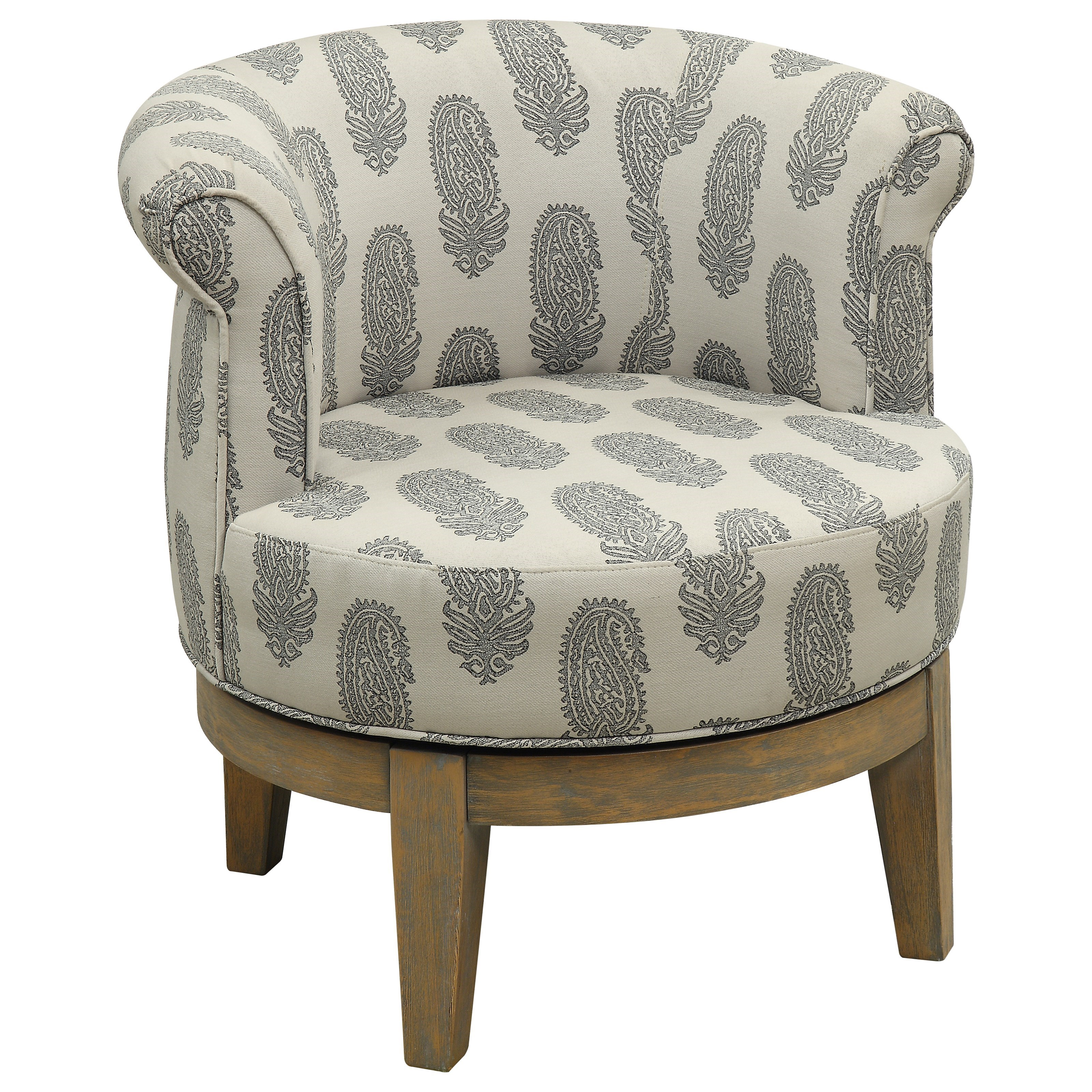 Coast to Coast Accents Swivel Accent Chair by Coast to Coast Imports at Zak's Home