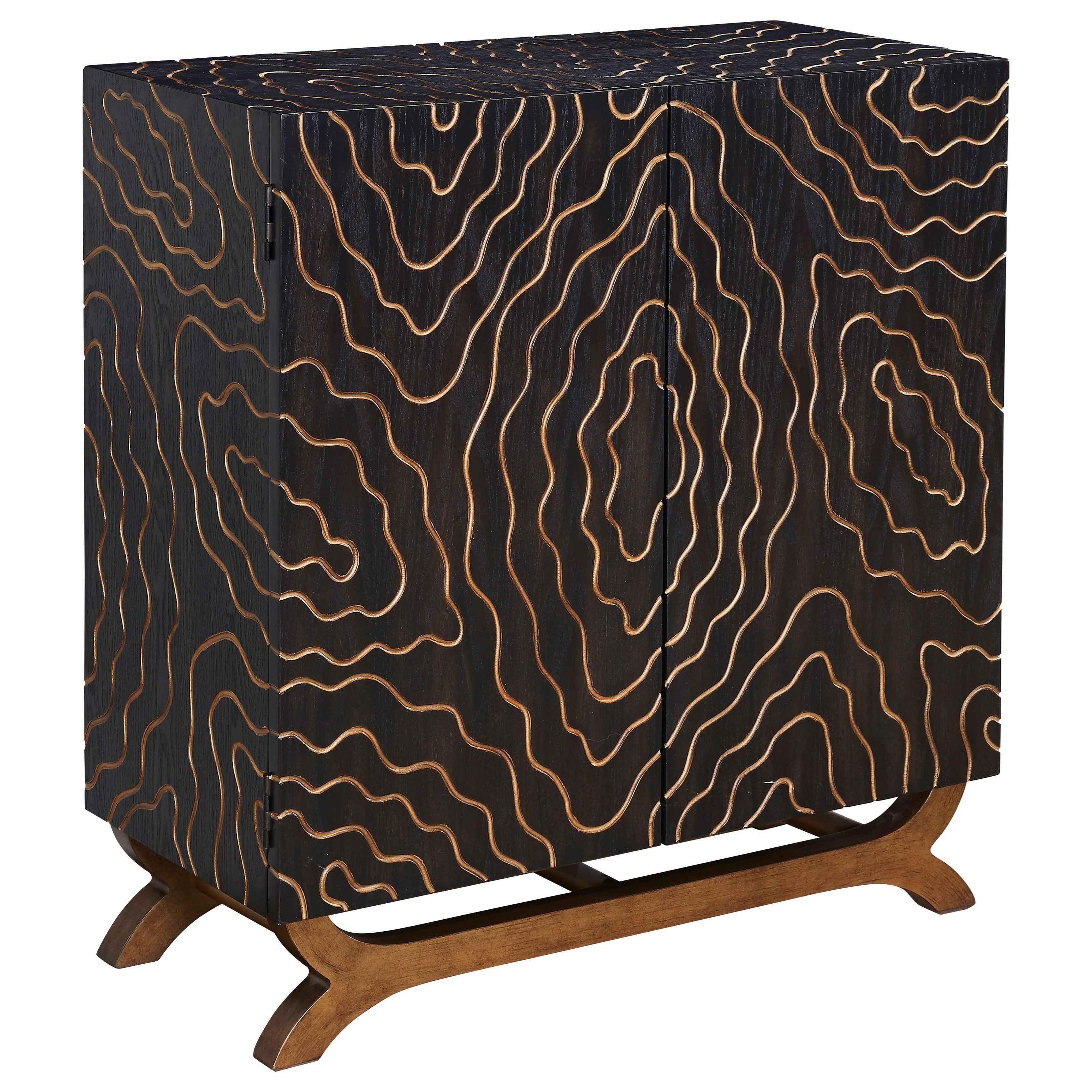 Coast to Coast Accents Two Door Cabinet by Coast to Coast Imports at Bullard Furniture