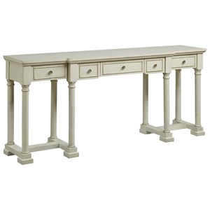 Coast to Coast Imports Coast to Coast Accents Five Drawer Console Desk