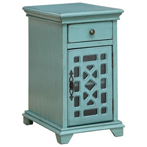 Coast to Coast Imports Coast to Coast Accents One Drawer One Door Chairside Cabinet
