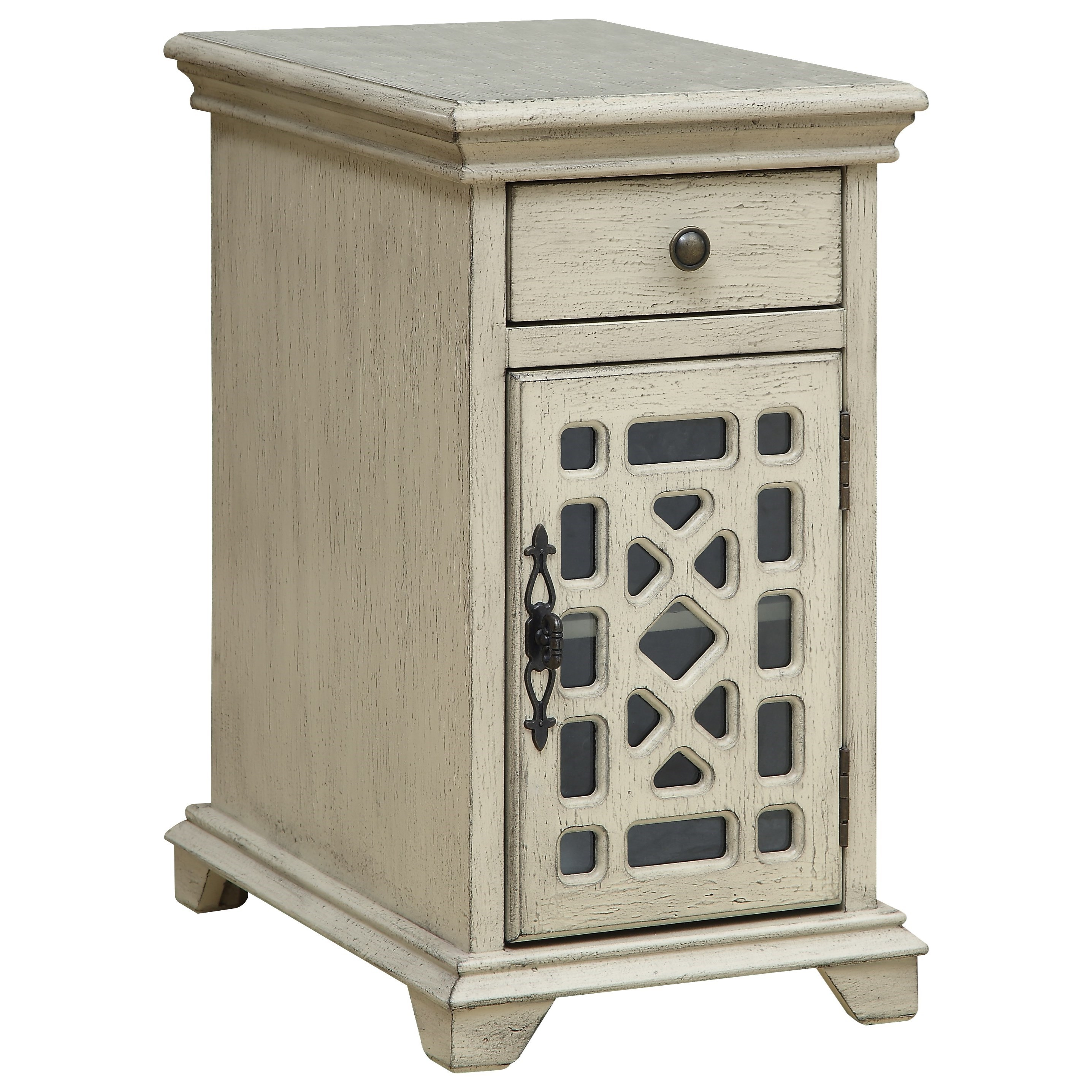 Coast to Coast Accents One Drawer One Door Chairside Cabinet by Coast to Coast Imports at Bullard Furniture