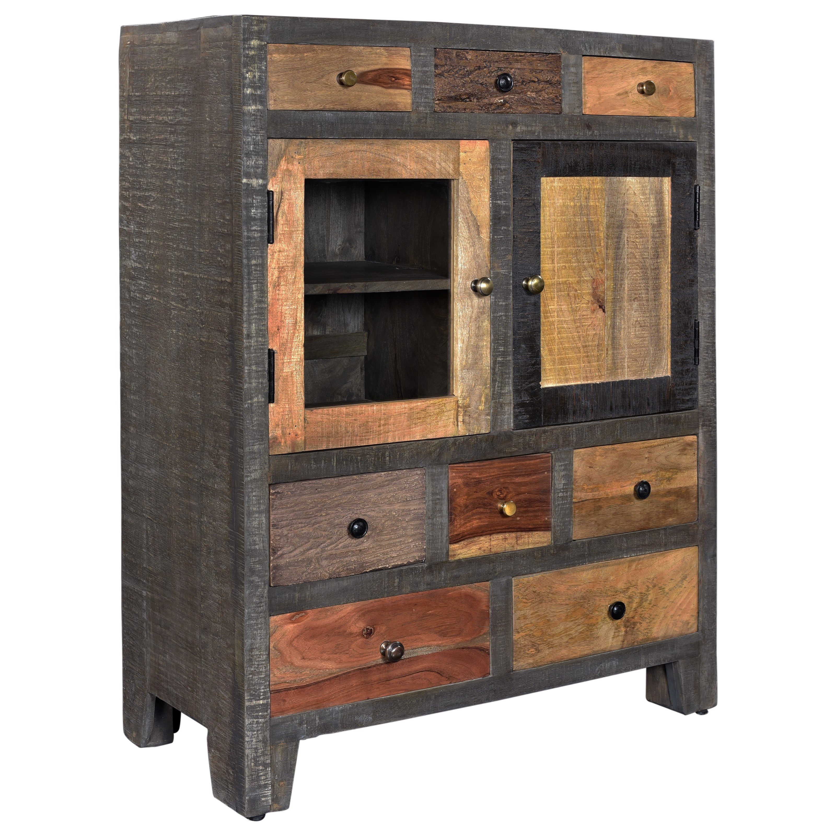 C2C Accents Eight Drawer Two Door Cabinet by C2C at Walker's Furniture