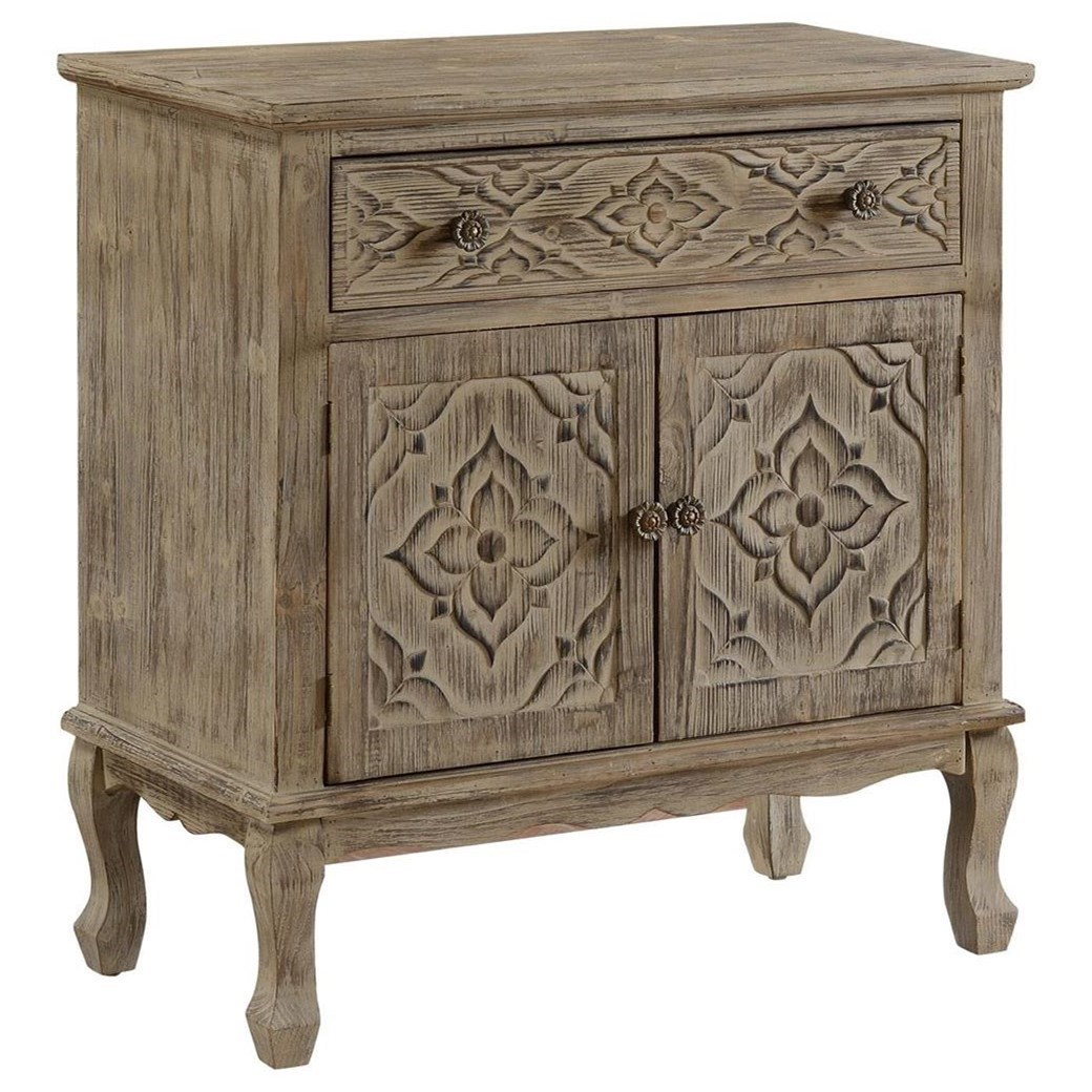 C2C Accents One Drawer Two Door Cabinet by C2C at Walker's Furniture
