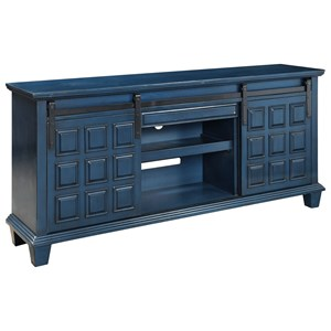 Contemporary Two Door Media Credenza