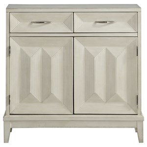 Contemporary Two Door Two Drawer Cabinet