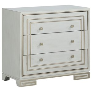 Contemporary Three Drawer Accent Chest