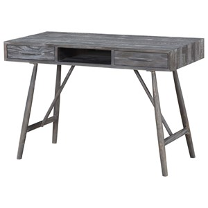 Rustic Two Drawer Desk