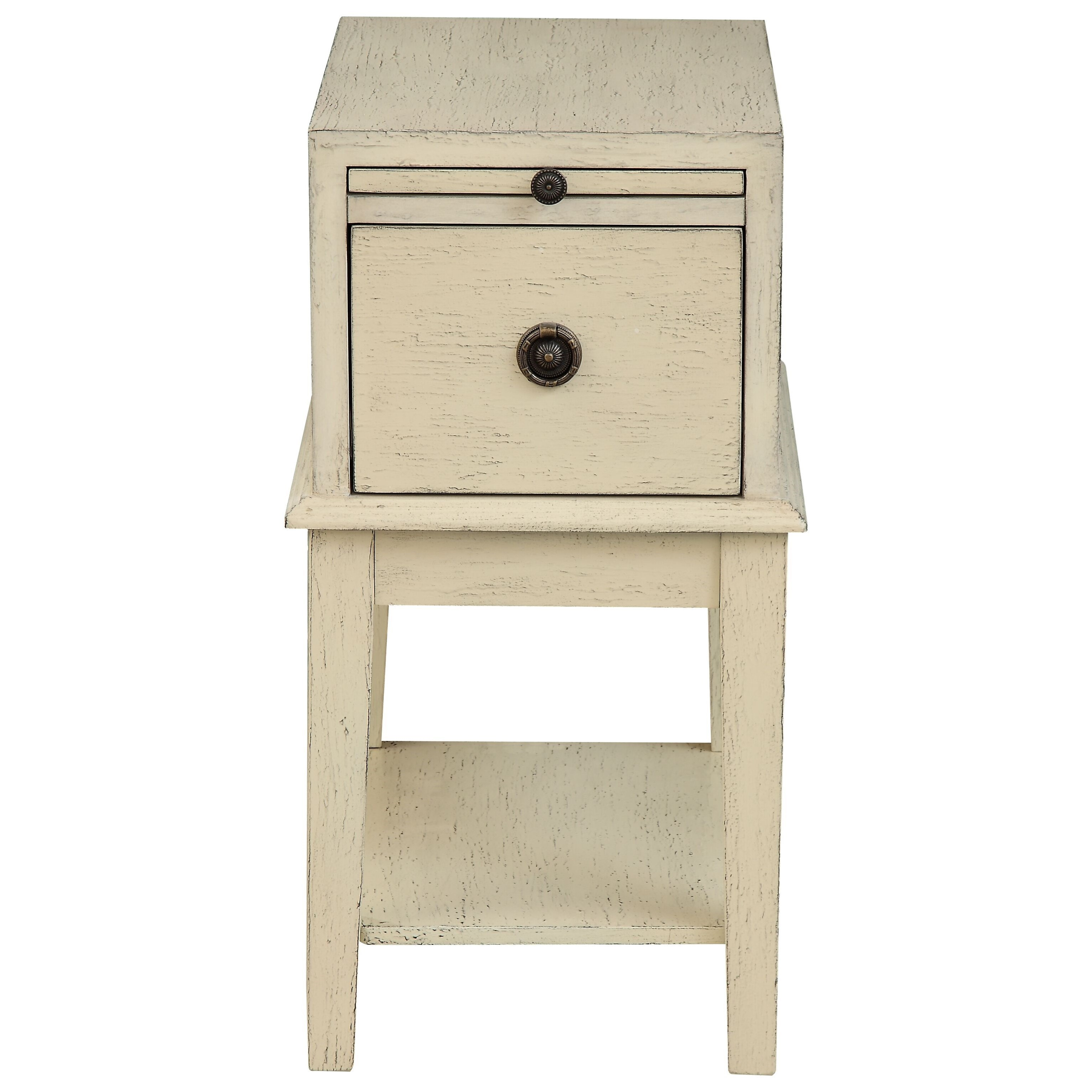 C2C Accents One Drawer Chairside Table by C2C at Walker's Furniture