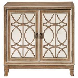 Transitional 2-Door Cabinet