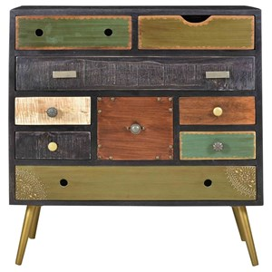 Mid-Century Modern 9-Drawer Chest