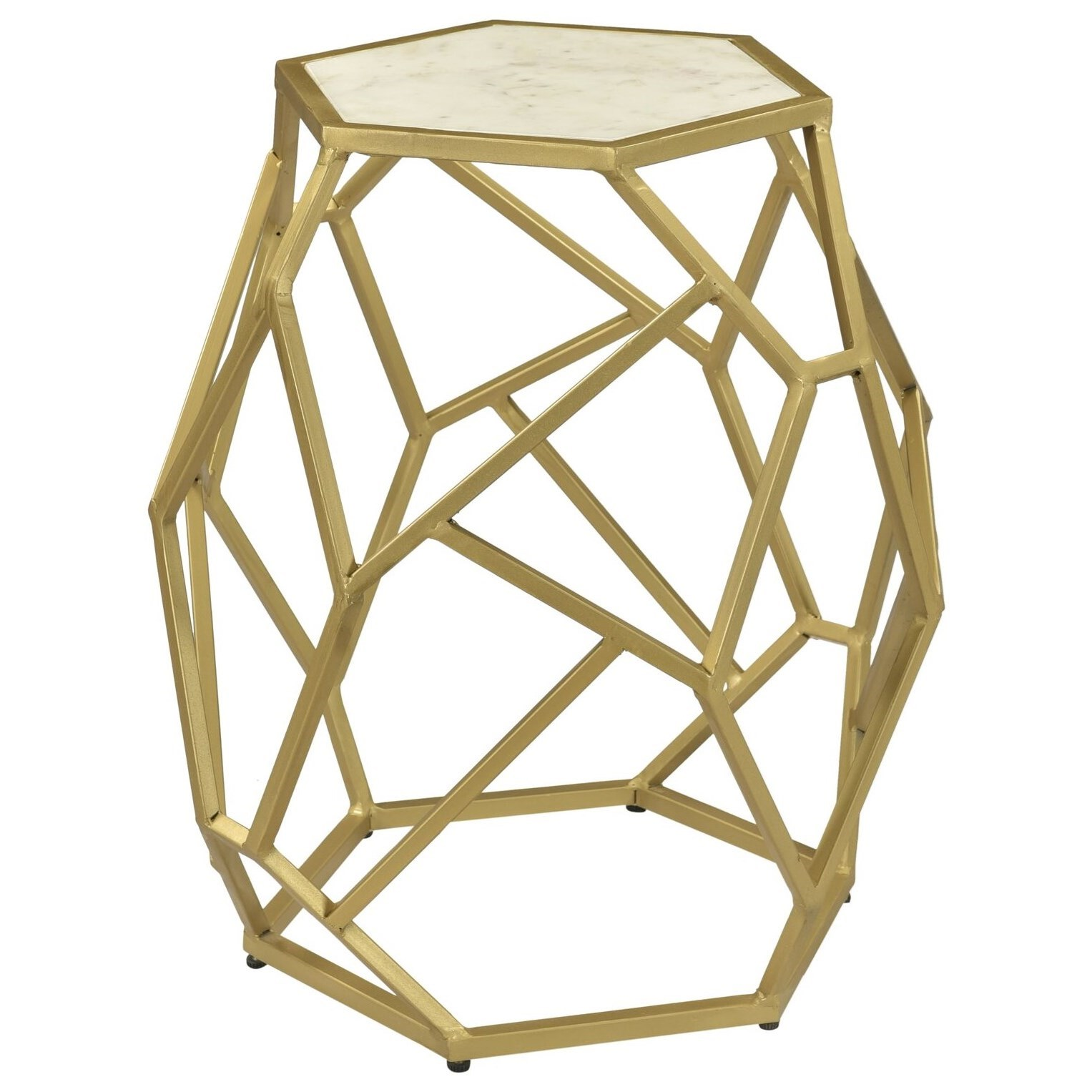 Coast to Coast Accents Hexagonal Accent Table by Coast to Coast Imports at Bullard Furniture