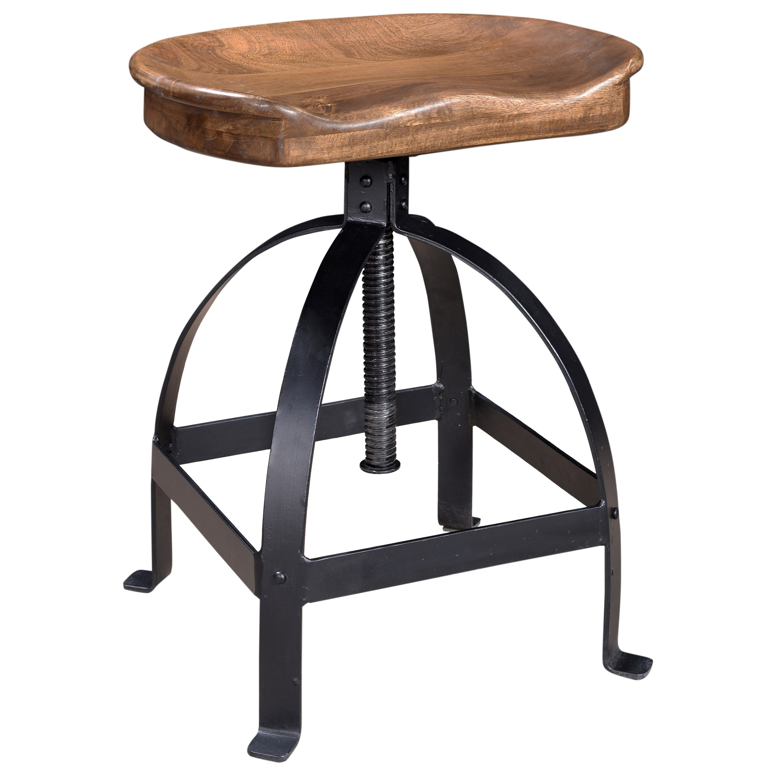 C2C Accents Adjustable Stool by C2C at Walker's Furniture