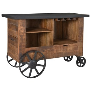 Coast to Coast Imports Coast to Coast Accents Bar Trolley
