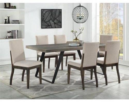 Denver Denver 5-Piece Dining Table Set at Morris Home