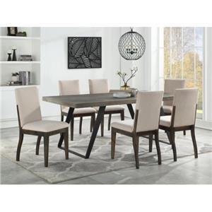 Denver 5-Piece Dining Table Set