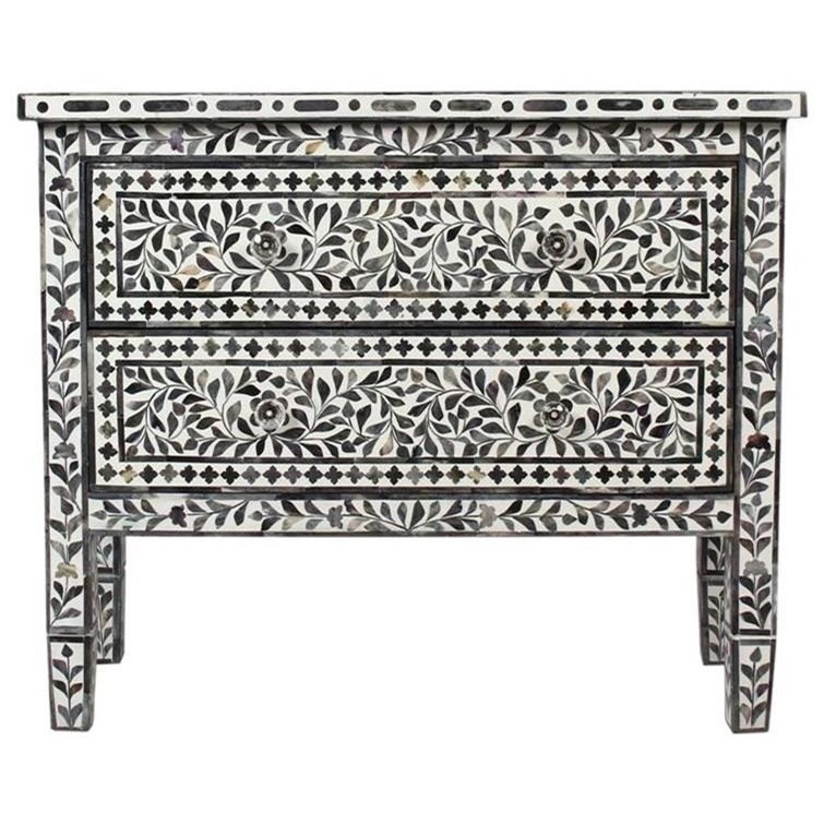 Kaylee's Garden Two Drawer Accent Chest by Coast to Coast Imports at Johnny Janosik
